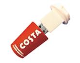Costa bespoke promotional flash drive