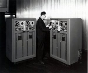 early tape drive