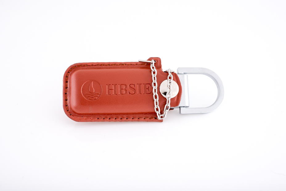 embossed leather pouch usb