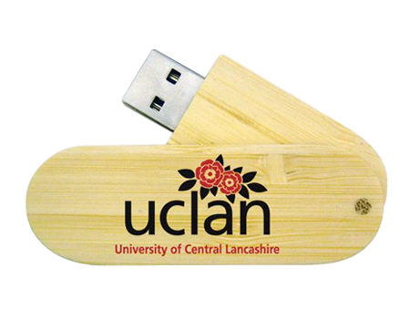 Eco Twist Bamboo USB Flash Drive