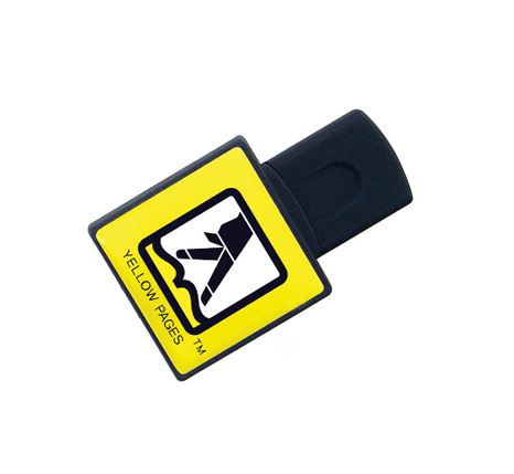 Personalised Yellow pages square flash drive