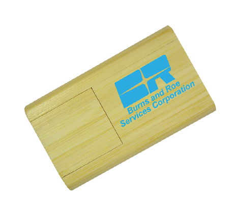 Eco friendly bamboo flash drive