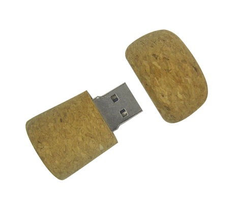 Promotional bottle cork usb stick