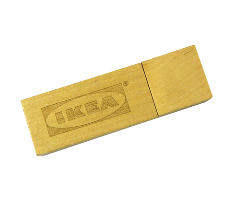 Ikea wood usb stick