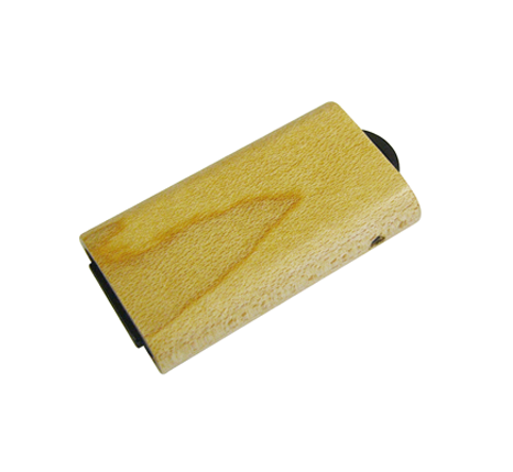 Mini wood flash drive