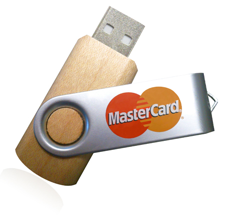 Mastercard promotional usb 3.0 memory stick