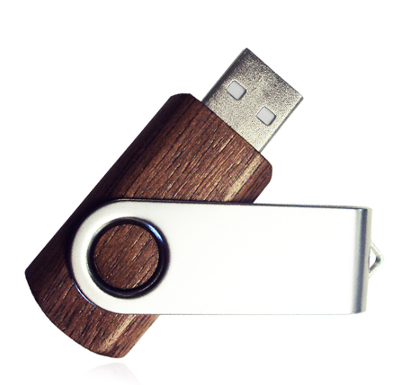 Wooden Twister usb 3.0 flash drive