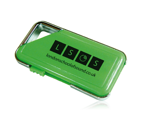 London school of sounds promotional usb drive