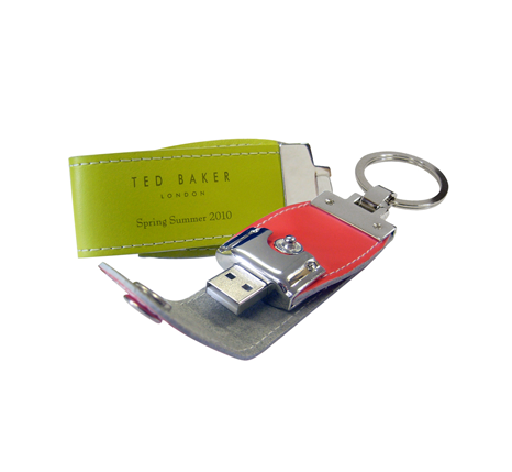 Ted Baker promotional leather usb stick