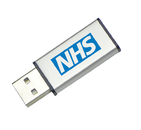 NHS promotional memory stick