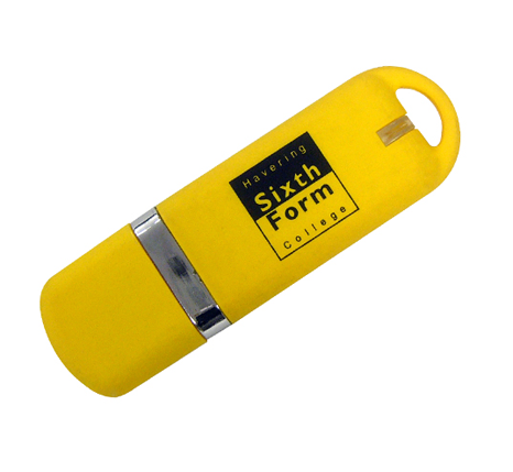 Havering Sixth Form College promotional usb stick