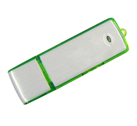 Green promotional usb stick