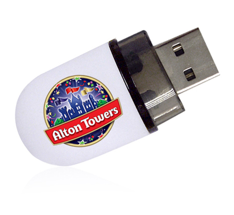 Alton Towers branded usb stick