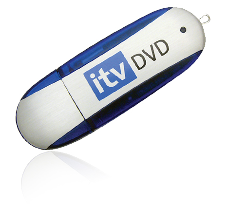 Promotional ITV DVD usb flash drive