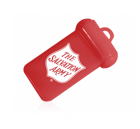Salvation army promotional tag usb drive