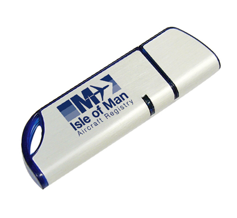 Isle of Man Aircraft registry branded memory stick