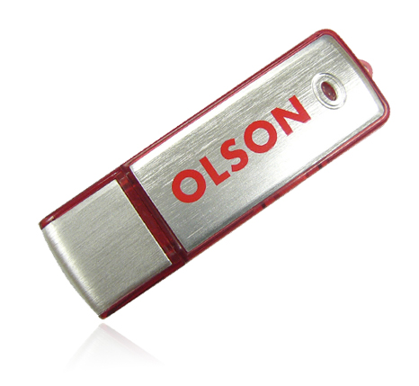 Olson promotional usb flash drive