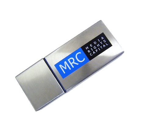 Media rights capital promotional metal usb stick