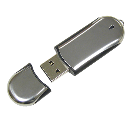 Custom chrome memory stick