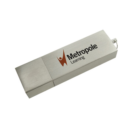 Metropole learning branded usb stick