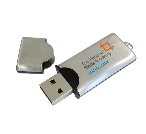 The National Skills Academy promotional usb stick