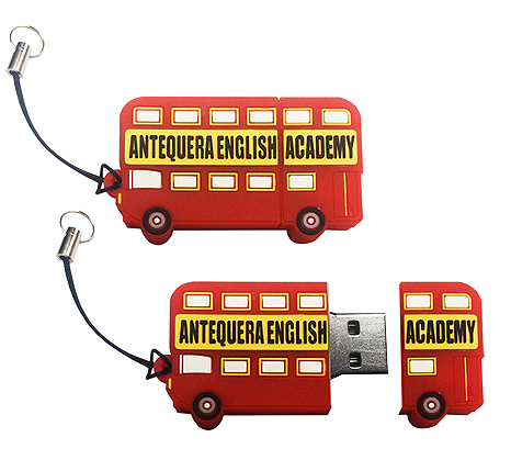 Custom Bus USB Drive