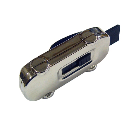 Car shaped promotional memory stick