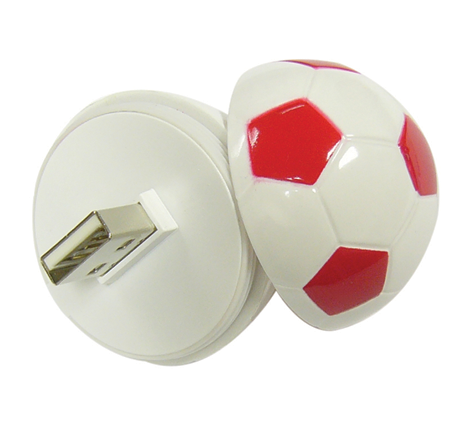 Novelty football usb flash drive