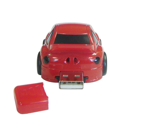 Promotional car shaped memory stick