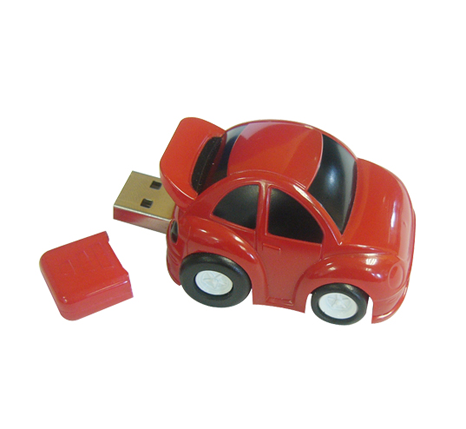 Motor Car shaped USB Flash Drive