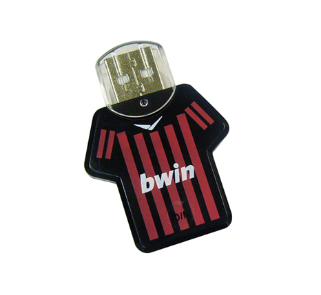 branded shirt usb flash drives
