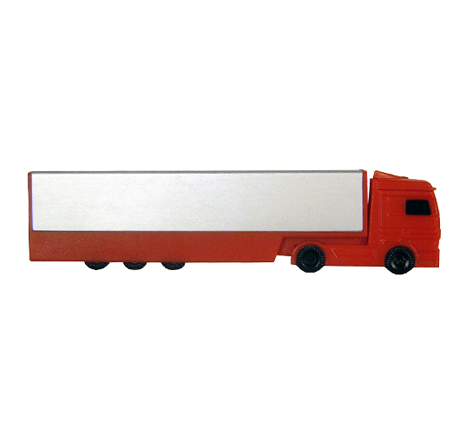 Novelty lorry shaped usb drive