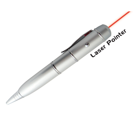 3 in 1 flash drive, pen & laser pointer