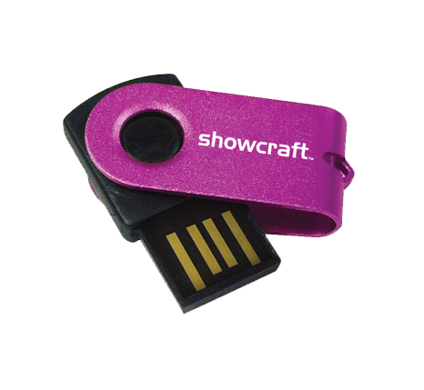 Showcraft promotional usb flash drive