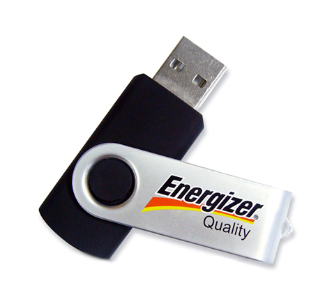 Custom Energizer usb stick