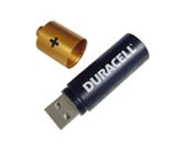 Battery USB Flash Drive